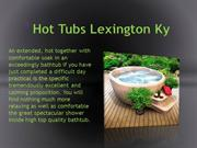 hot tubs lexington ky