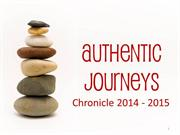 2014-2015 Authentic Journeys Chronicle (Yearbook)
