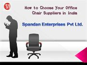One Stop Solution for Executive Office Chair