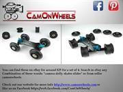 CamonWheels - Small Video Dolly, Camera Dolly Wheels, CW3 wheels
