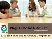 bulk sms in banking and insurance