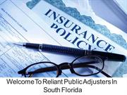 Public Insurance Adjusters in South Florida