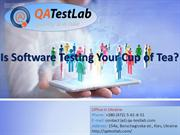 Is Software Testing Your Cup of Tea?
