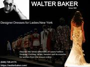 Walter Baker Designer Clothes for women – Fashionable Party Dresses fo
