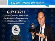 Guy Bavli - Mind Reader, Entertainer & Motivational Speaker