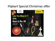 Flipkart Special Christmas offer