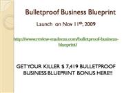 Bulletproof Business Blueprint Bonus