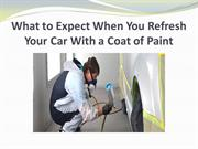 What to Expect When You Refresh Your Car With a Coat of Paint