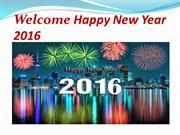 Welcome Happy New Year 2016