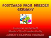 POSTCARDS  FROM  DRESDEN