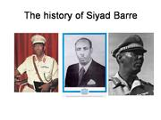 History of Siyad barre