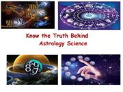 Know about Astrology and it's type