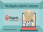 Magento Ideal for eCommerce
