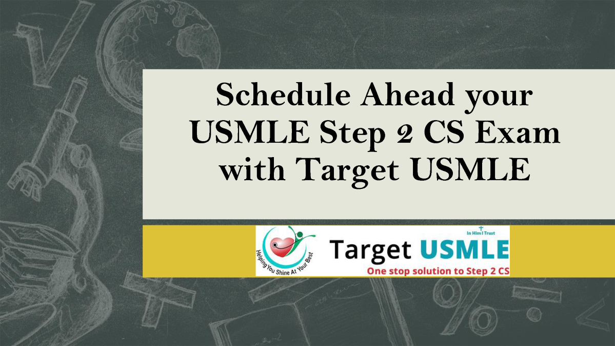 schedule ahead your usmle step 2 cs exam |authorstream