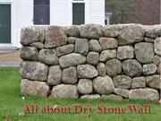 Tips to Build Dry Stone Wall