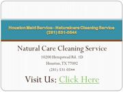 Cleaning Service Houston - Naturalcare Cleaning Service (281) 531-0544