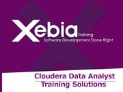 Cloudera Data Analyst Training in India-Xebia Training