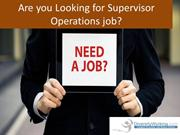 Diversityworking.com - Supervisor Operations job in Denver