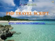 Fascinating Features PHP Travel Script developed by Eicra Soft