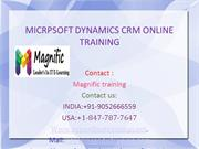 Microsoft Dynamics CRM Online Training in USA,UK
