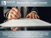 Probate Estate & Family Law Atorney - Saraiya Pllc