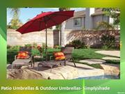 Patio Umbrellas & Outdoor Umbrellas- Simplyshade