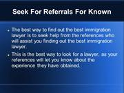 How To Choose Best Immigration Lawyer For Your Legal Issues