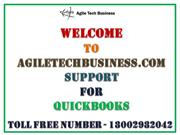 Call @ 1800-298-2042 Agiletechbusiness Support For QuickBooks