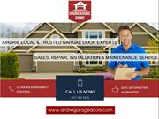 Airdrie Garage Door Experts - Repair, Installation & Opener Services
