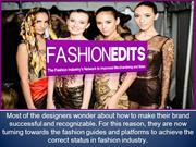 FashionEdits - Networking In Fashion Industry