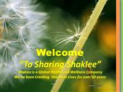 Shaklee What We re About