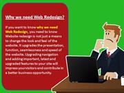 Website Redesign Services - Reasons to Redesogn Your Website