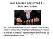 Jean Leveque Englewood FL-State Accountant