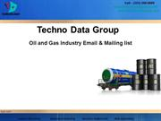 Oil and Gas Industry Email & Mailing list