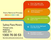 Piano Removalists are offering the top Piano Delivery service