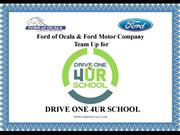 Drive One 4UR School Event