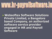 ESI Software, PF Software, Salary Software, Attendance Software, HR &