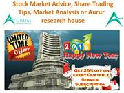 Stock Tips| Stock Cash Tips & Stock Market Advice or Aurum research