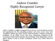Andrew Crumbie Highly Recognized Lawyer