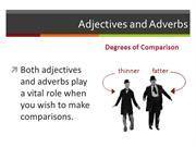 Degrees of Adjectives in English