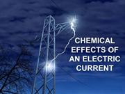 chemical effects of electric current class 10