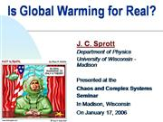 is global warming for real