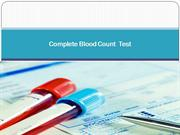 Complete Blood Count  Test