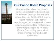 Our Condo Board Proposes - A Presentation for YouTube   1-4-16pdfx