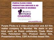 Leading Film Makers and Video Production in Mumbai