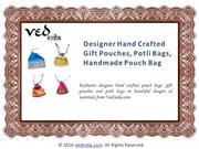 Handmade Pouch Bag‎ | Wedding Potli Bags for Women's