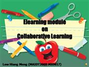 elearning module collaborative learning