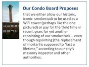 Our Condo Board Proposes -- slide show view --