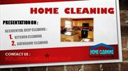 KITCHEN Cleaning & Bathroom Cleaning