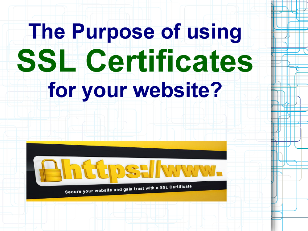 The Importance Of Using Ssl Certificates For A Website Authorstream